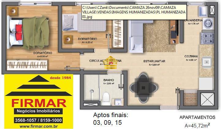 ApartamentoVenda em São Leopoldo no bairro Campina