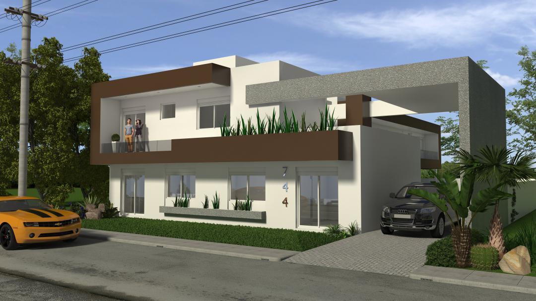 Apartamento/Cobertura/Loft/JK em Atlântida no Bairro Centro